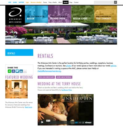 arkansas arts center,little rock wedding,wedding videography,video,terry house