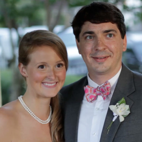 Featured on the Arkansas Arts Center website! Jennifer and Ben's wedding at the Terry House.