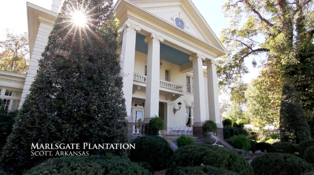 Marlsgate Plantation wedding sunflower films little rock arkansas wedding videography
