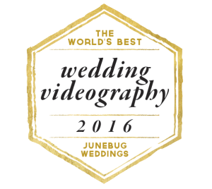 Junebug Weddings Videography Badge