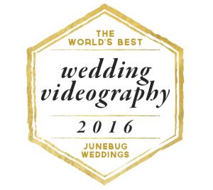 Junebug Weddings Videography Badge